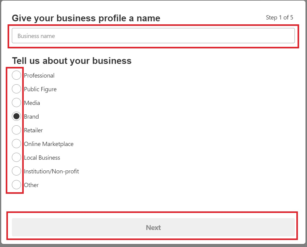 Business profile name. How to get a DoFollow backlink from Pinterest 2019