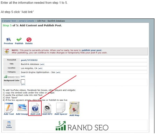 Rankd SEO – The Largest Free Backlink database
